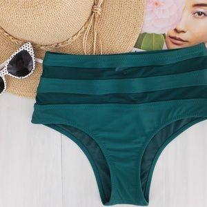 Mossimo • High Rise Cheeky Bikini Bottom